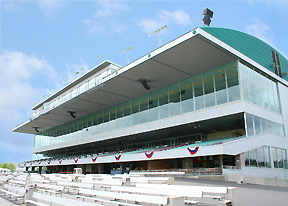 Emerald Downs grandstand
